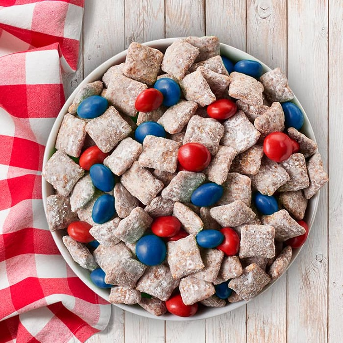 Red, White, and Blue Muddy Buddies™