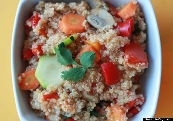 quinoa and fruit